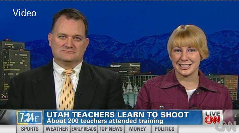 Safe to Teach CNN News Show Maverick Center