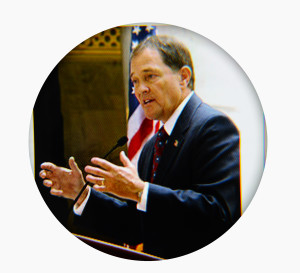 Governor Herbert Photo on Gray2