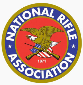 NRA Logo on Gray