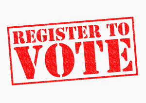 Register to Vote on Gray