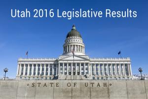 Utah State Capitol 2016 Legislative Results