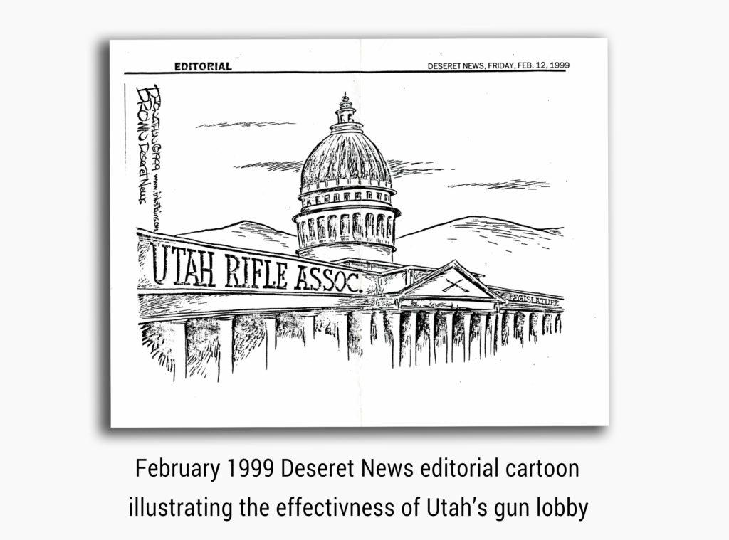 Utah Rifle Assoc. Deseret News Editorail3