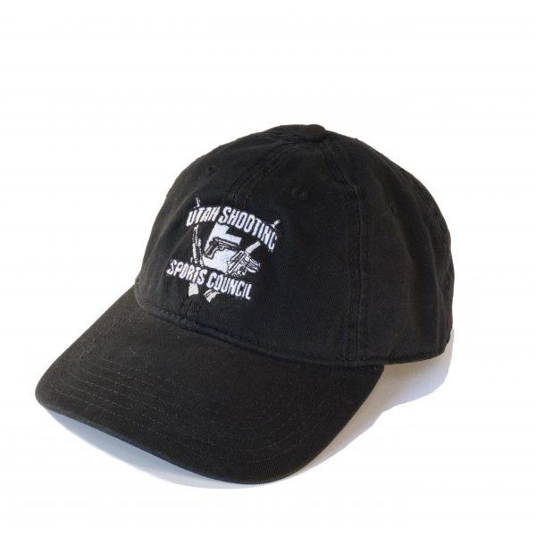 Black USSC Hat 0 Floppy with Gun Logo